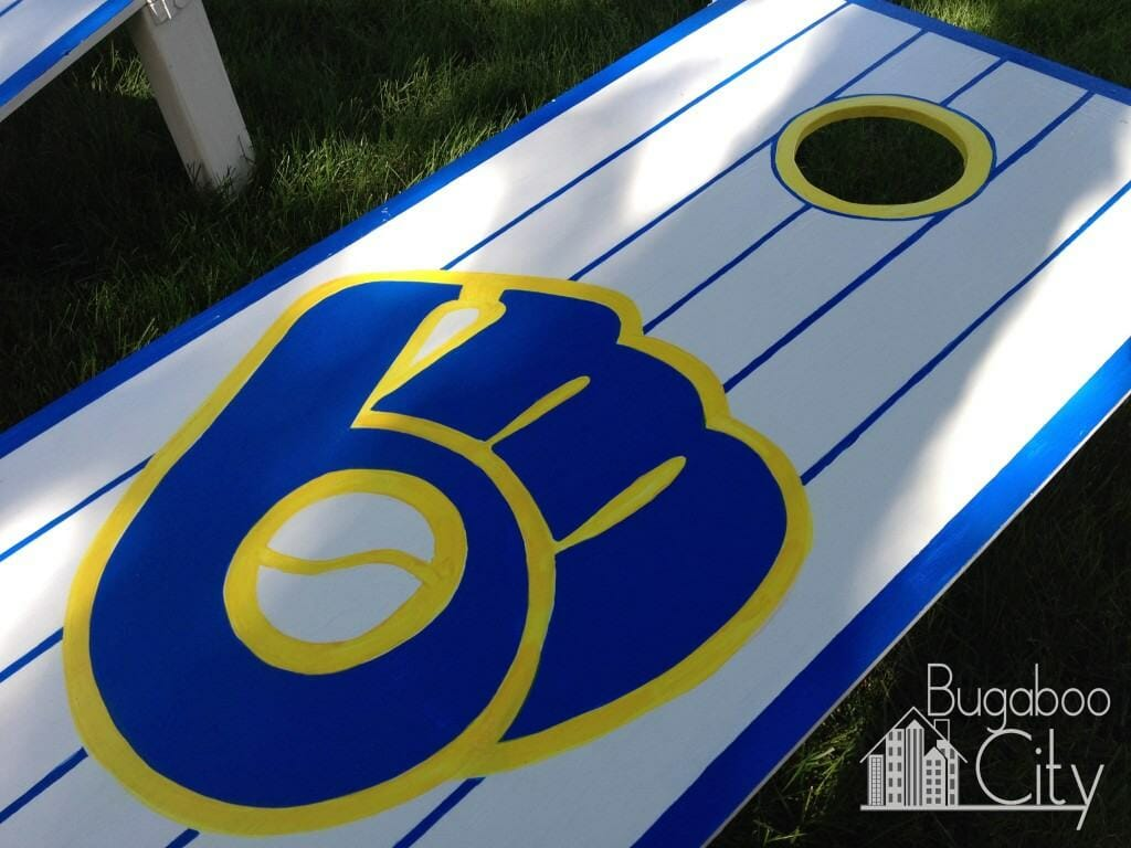 How to make your own cornhole boards!