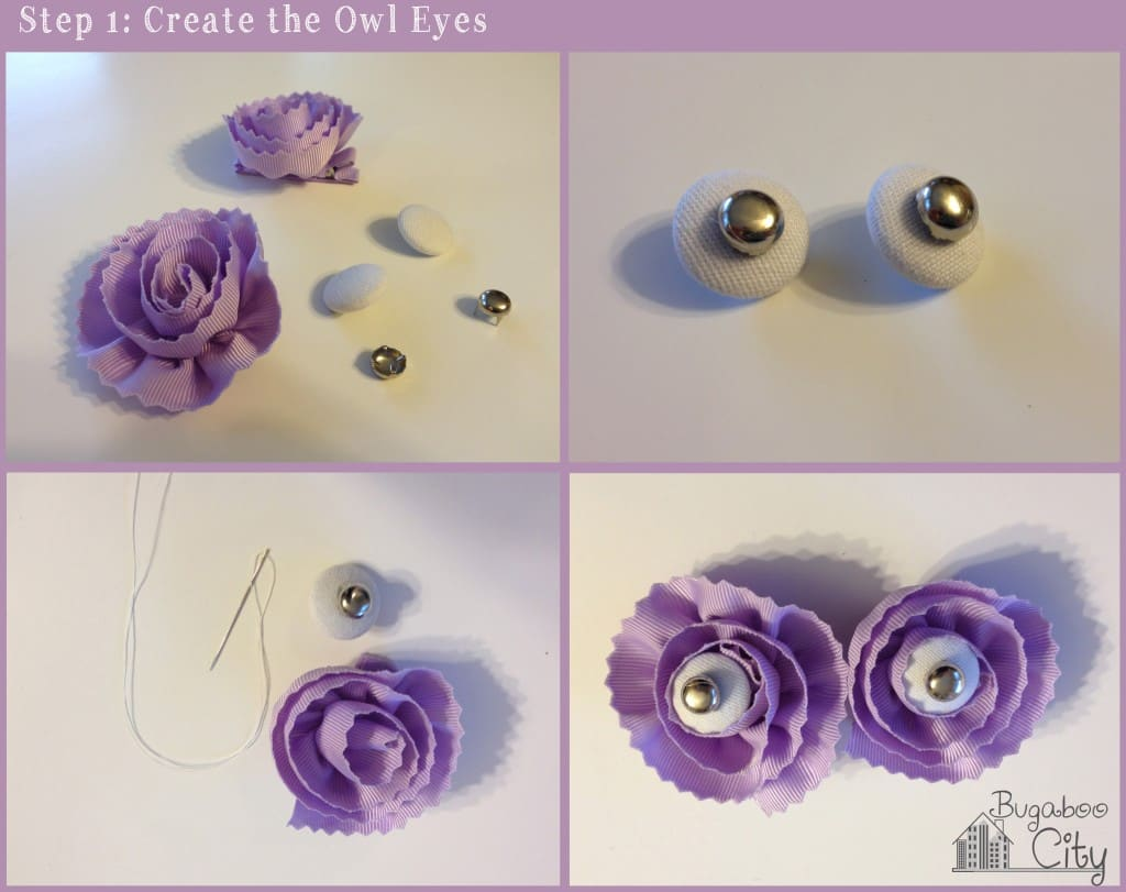 Step 1. DIY Owl Diaper Cake Tutorial
