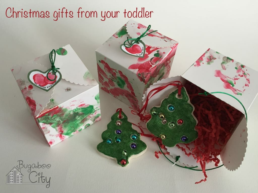 Toddler Made Holiday Gift