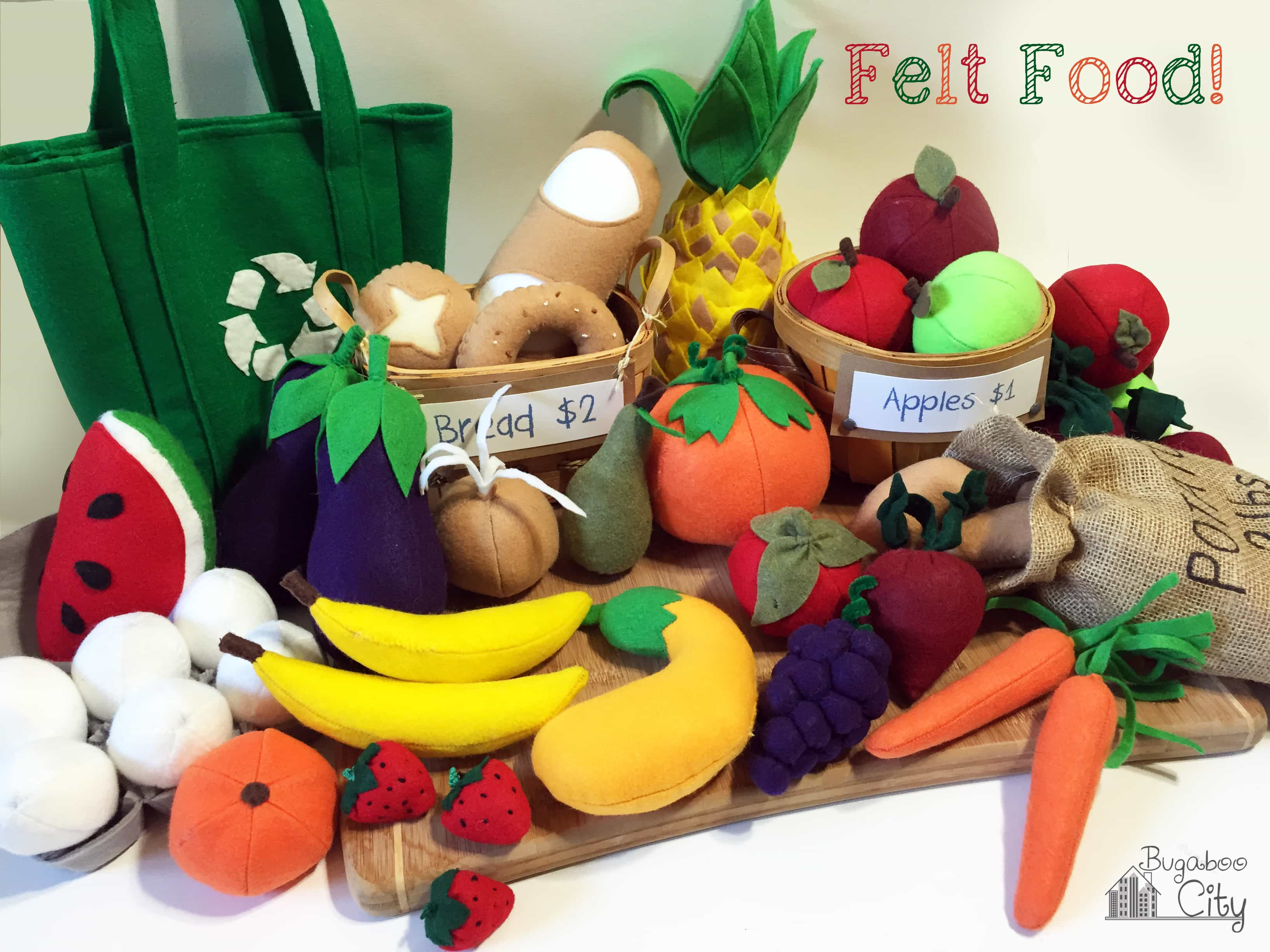So Much Felt Food!!