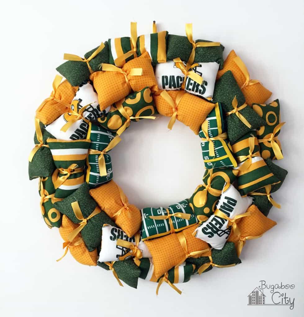 NFL Team Pillow Wreath