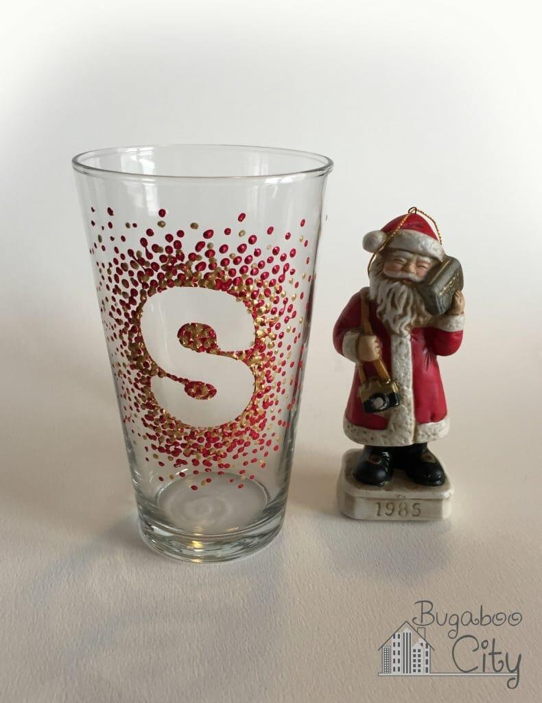 Santa's Glass of Milk