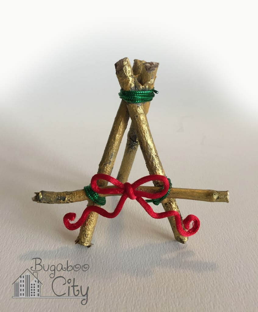 Holiday Place Card Easel