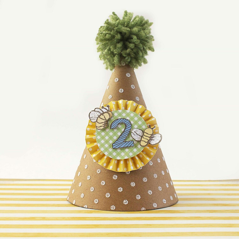 DIY Paper Party Hat!