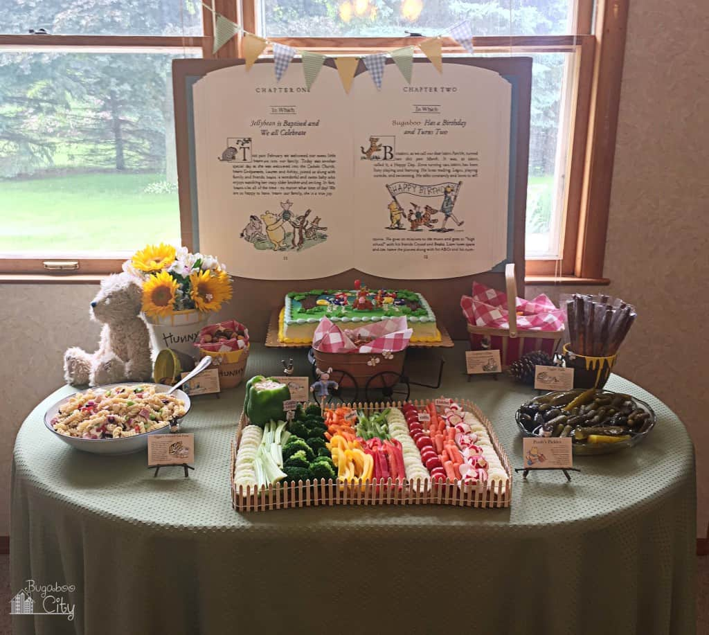 Winnie the Pooh Party Food Ideas - Food Table