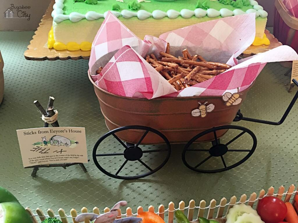 Winnie the Pooh Party Food Ideas - Sticks from Eeyore's House
