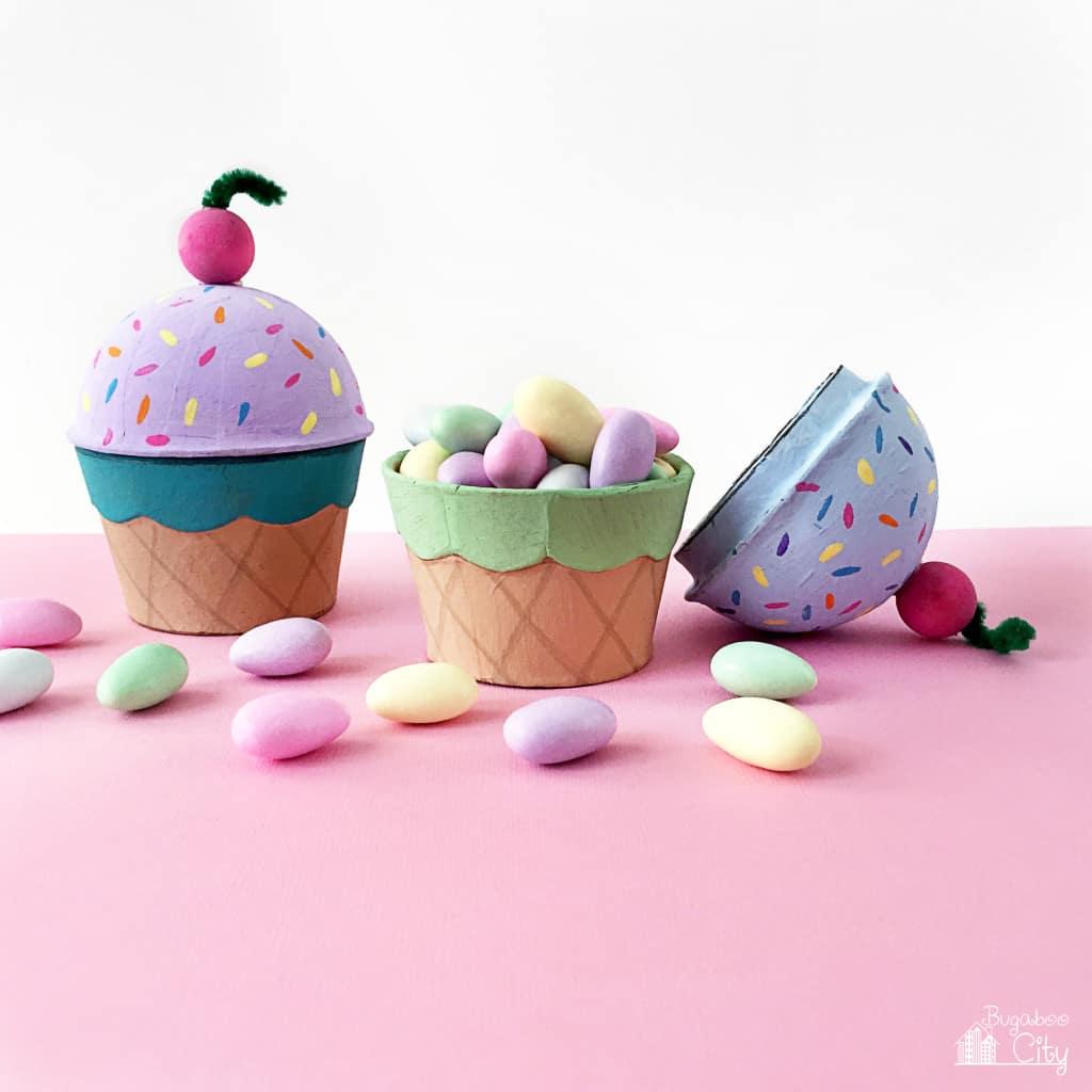 BugabooCity Ice Cream Cone Treat Box