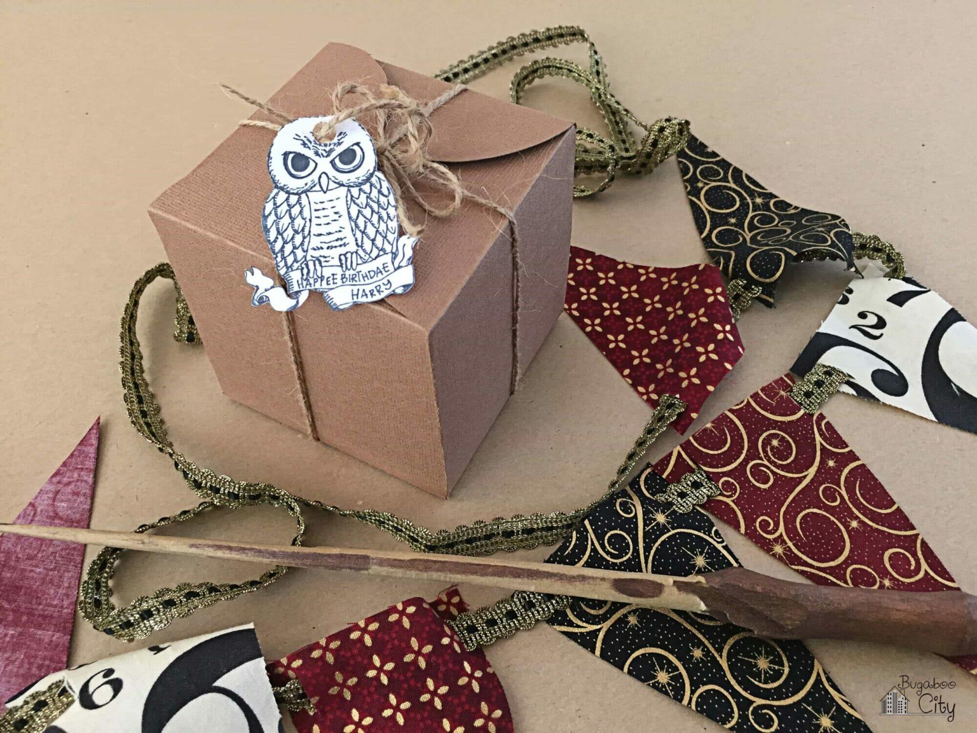 Harry Potter Birthday Cupcake and Treat Box