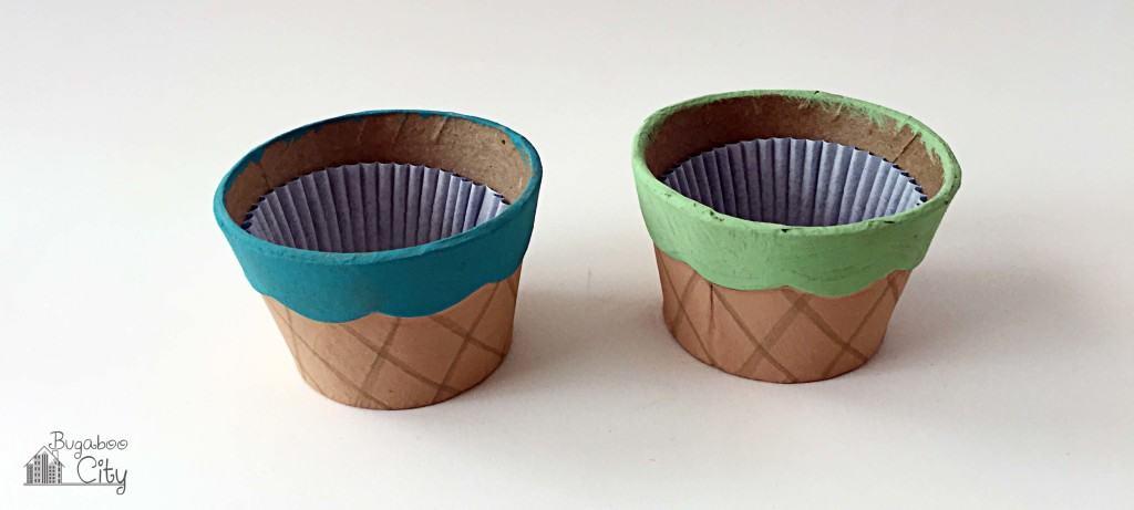 Ice Cream Cone Treat Box Tutorial