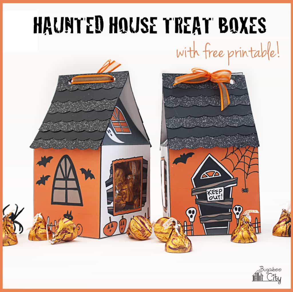 Haunted House Treat Box DIY for Halloween