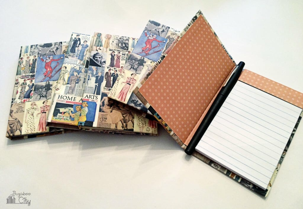 Mini Notepads DIY Gifts