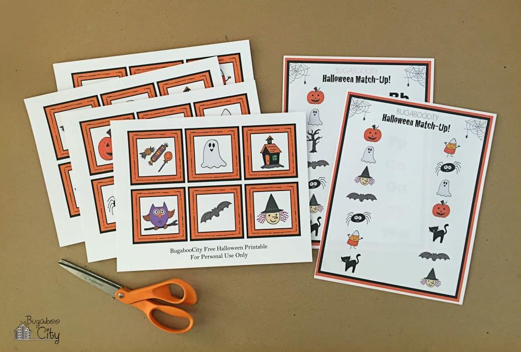 Toddler Halloween Activities Free Printables