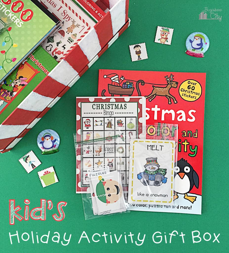 Kid's Holiday Activity Gift Box