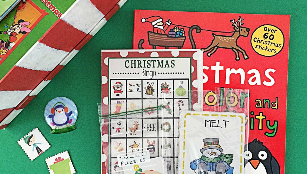 Kid's Holiday Activity Box