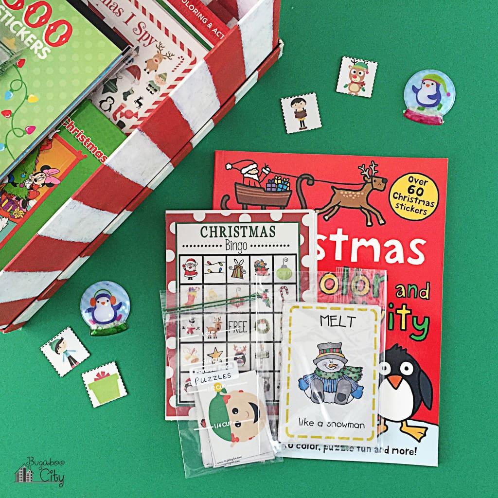Toddler Holiday Activity Gift Box 11