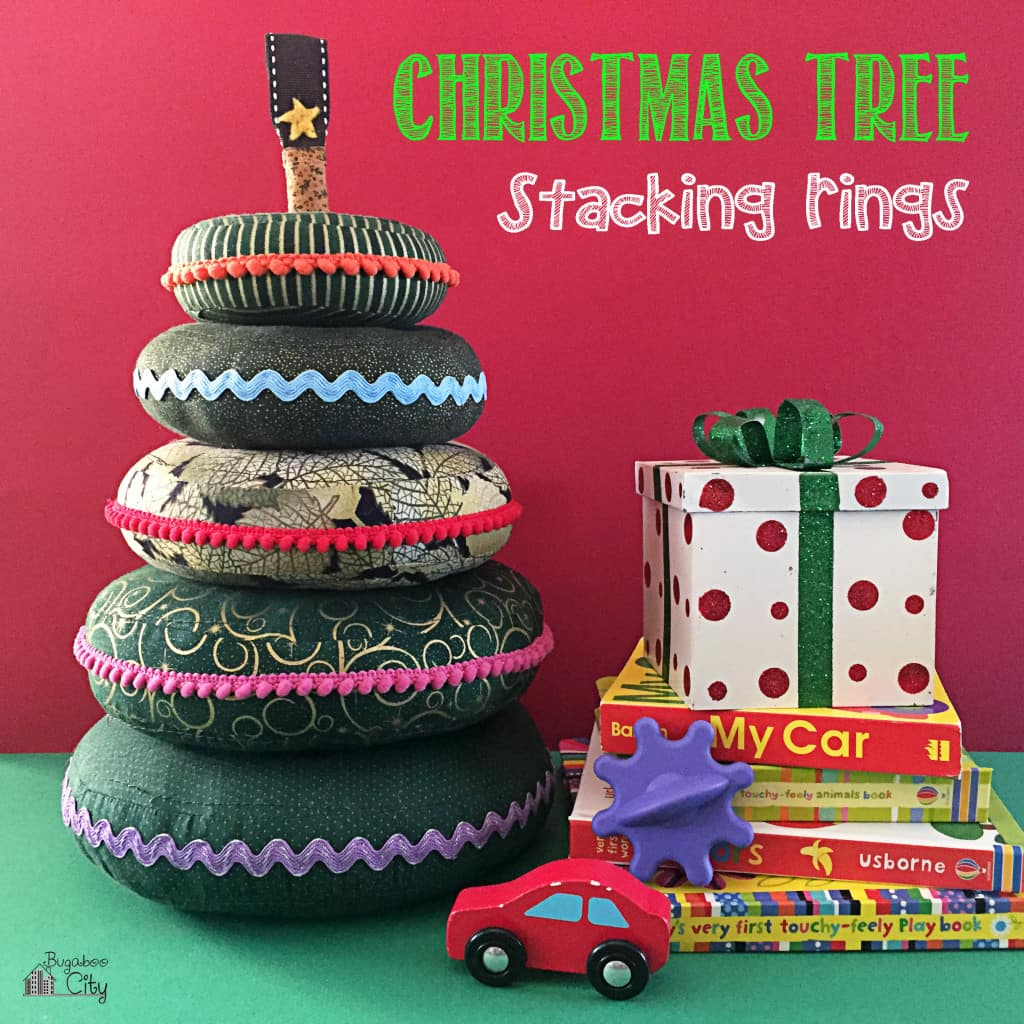 Christmas Tree Baby Stacking Ring Toy