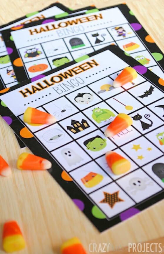 Halloween BINGO by Crazy Little Projects