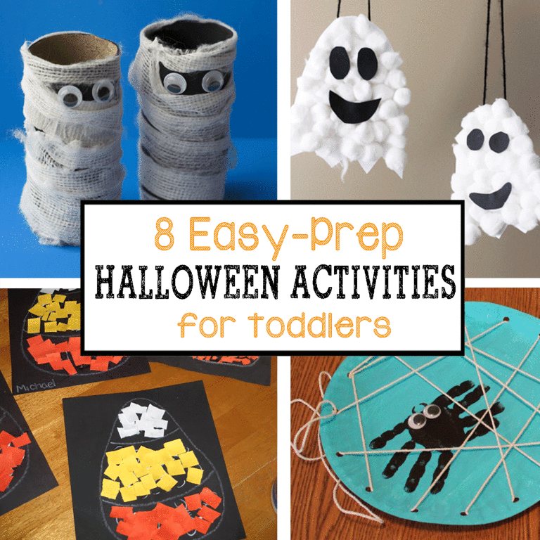 8 Easy-Prep Halloween Activities for Toddlers