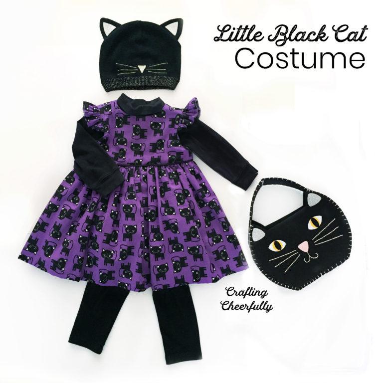 Little Black Cat Toddler Costume