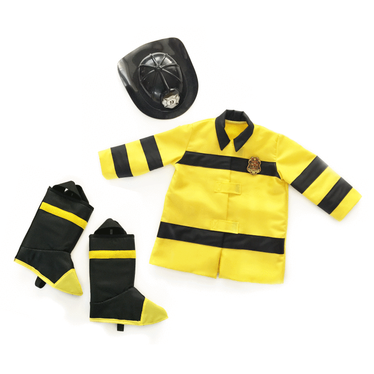 Toddler Firefighter Costume