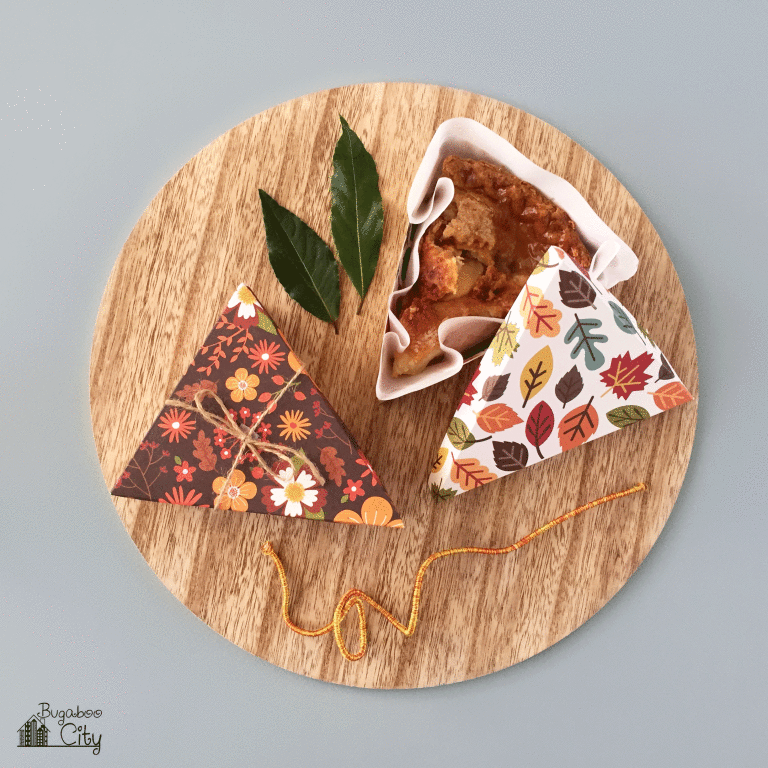 Thanksgiving Paper Pie Boxes