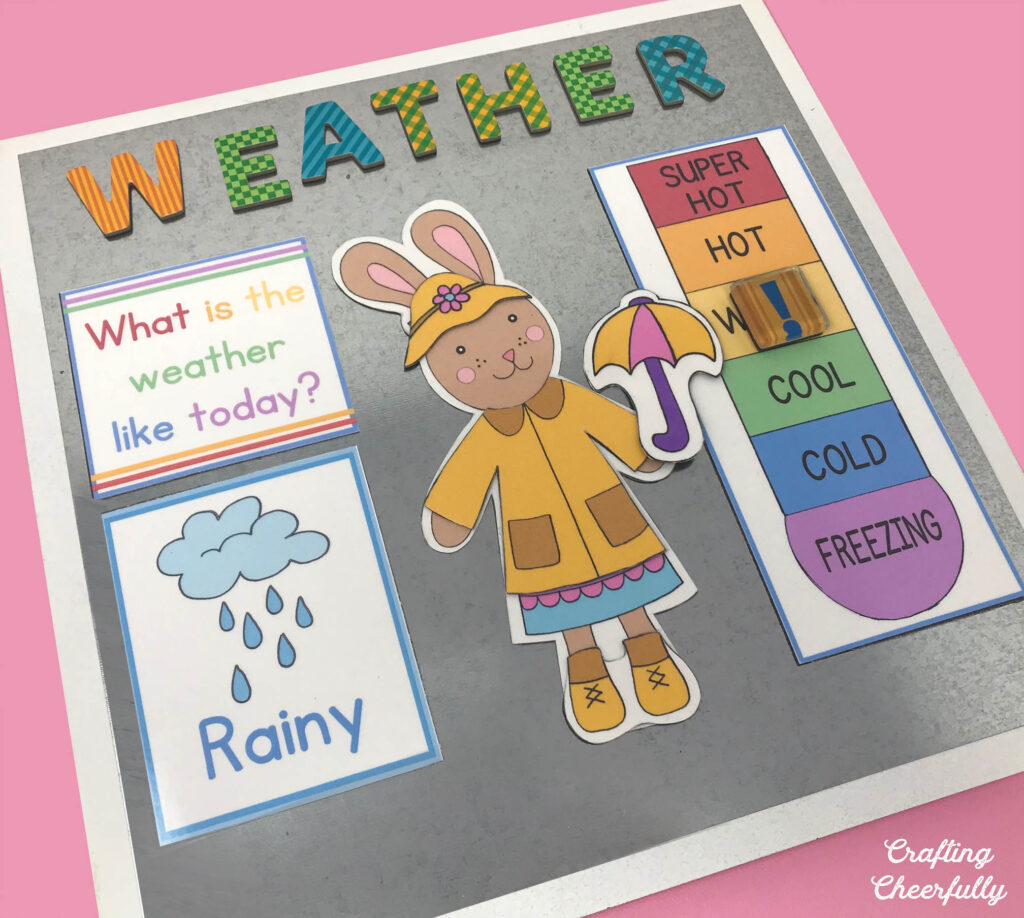 DIY Weather Calendar Printables