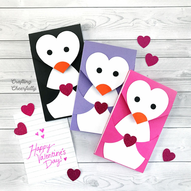 DIY Penguin notepads
