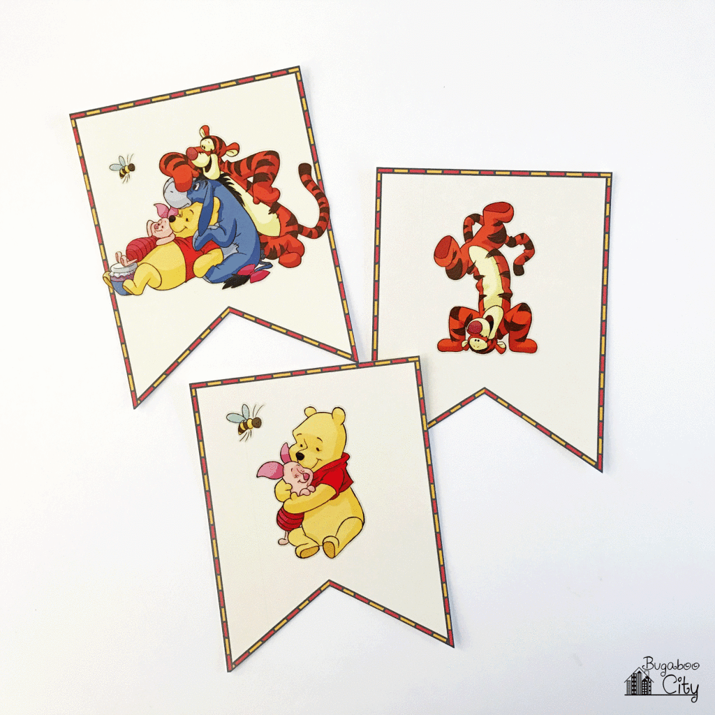Winnie-the-Pooh-DIY-Birthday-banner
