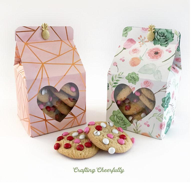DIY Valentine's Day Treat Box – with Heart Window