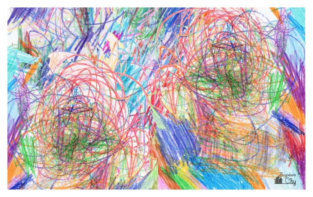 DIY Smock with Kid's Original Artwork