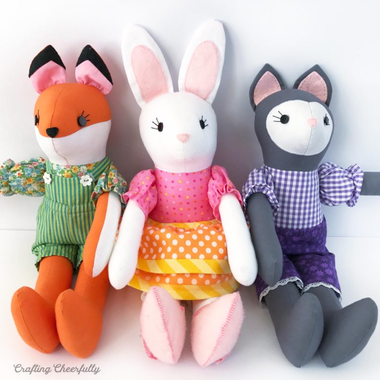 DIY Fabric Dolls with McCall's Pattern