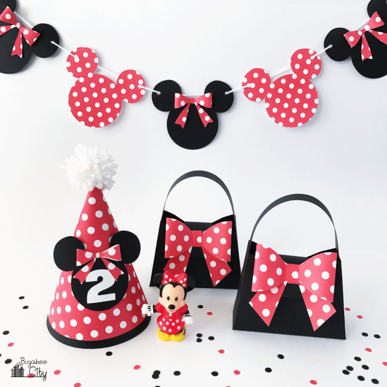 DIY Minnie Mouse Party Supplies