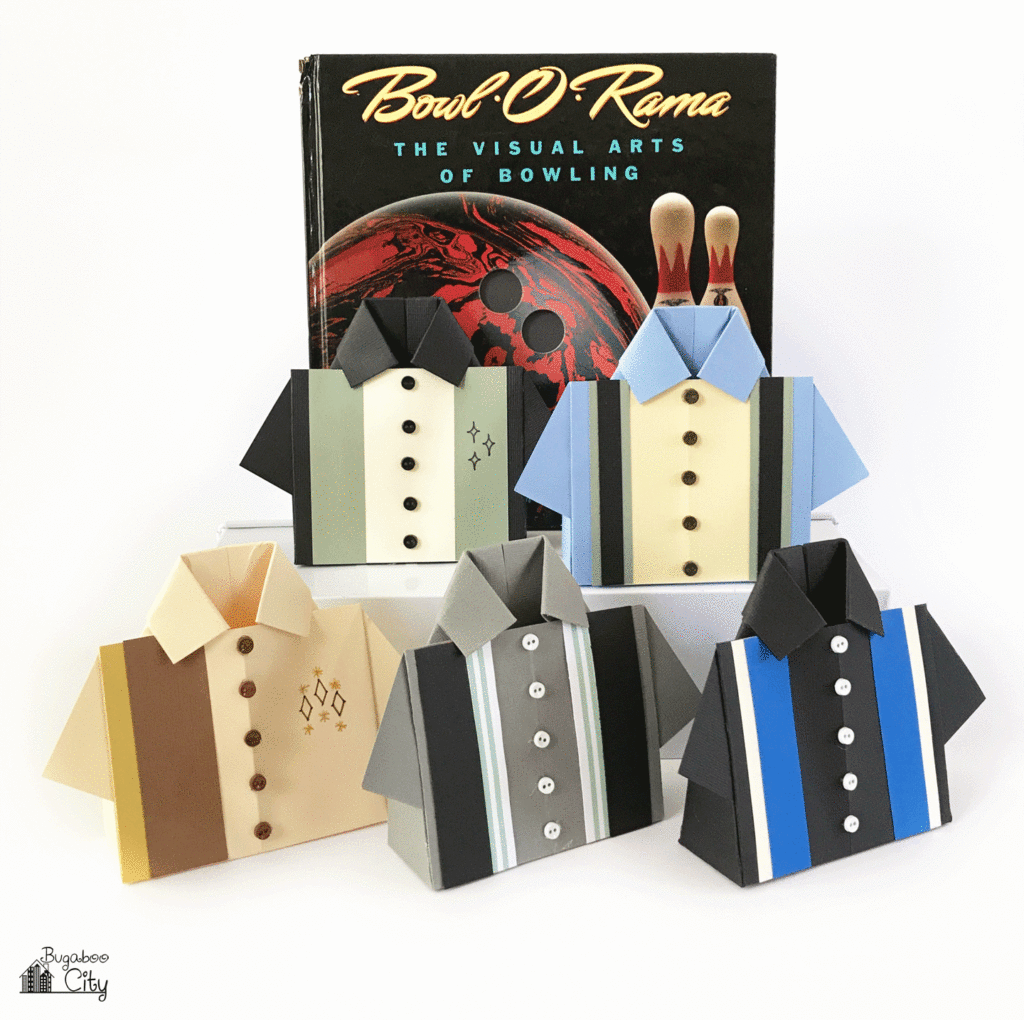 DIY Bowling Shirt Treat Boxes