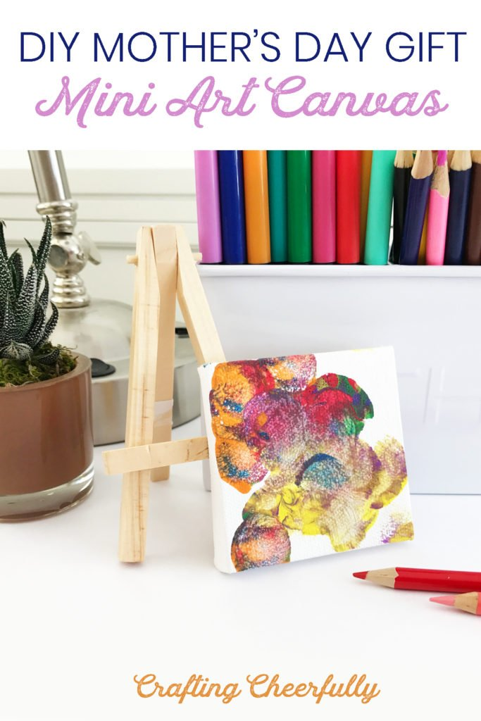 DIY Mother's Day Gift Mini Art Canvas