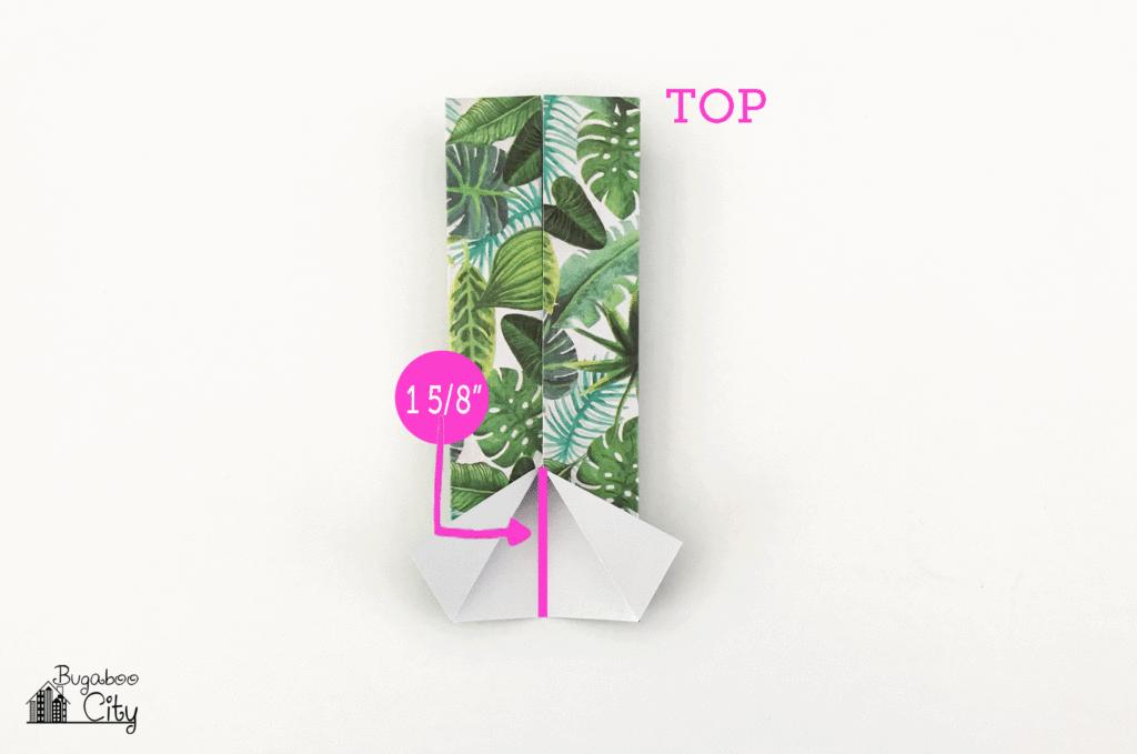 Origami Hawaiian Shirt Paper Banner Tutorial!