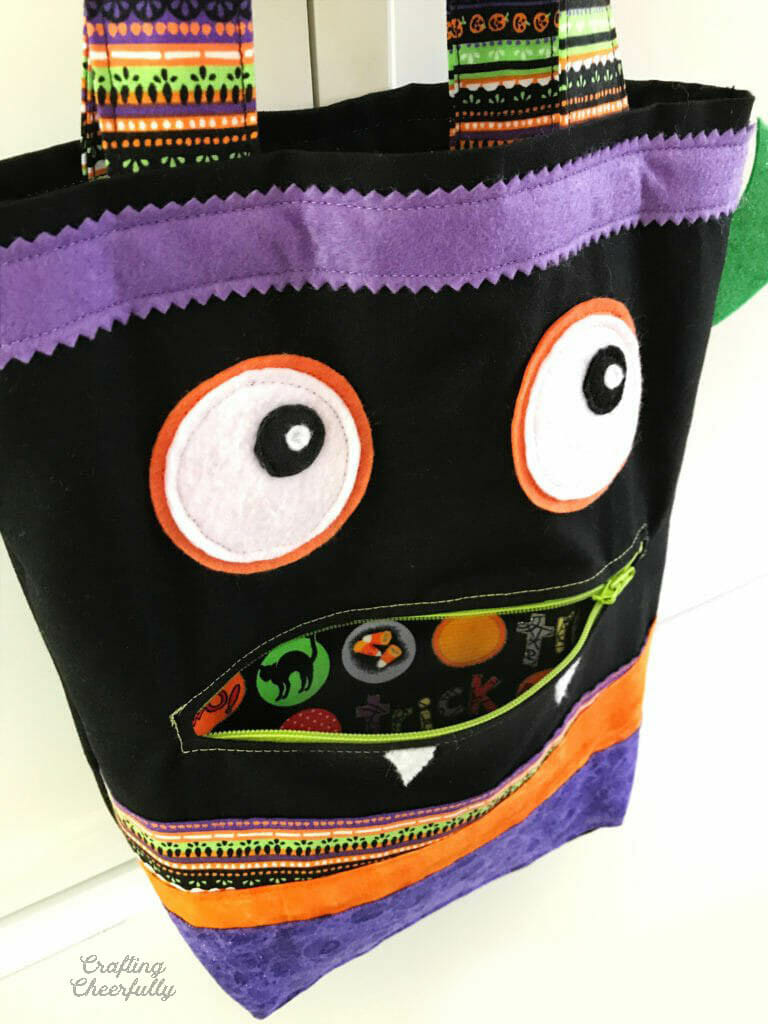 Zipper Mouth Treat Bag