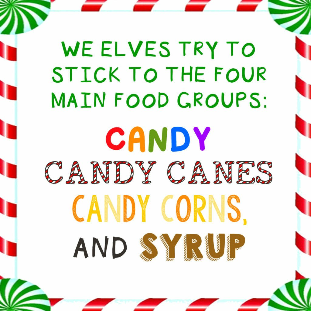 Buddy The Elf Syrup Label Free Printable Crafting Cheerfully