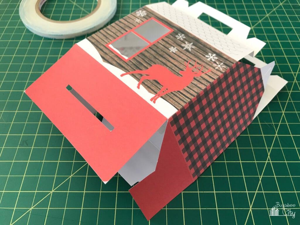 DIY Cozy Cabin Treat Box with Free Printable