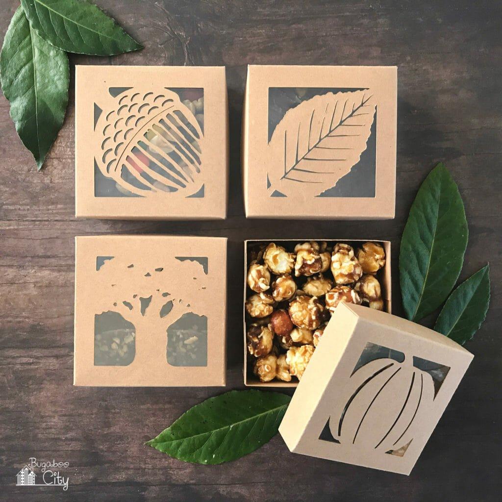 Thanksgiving Autumn Treat Boxes
