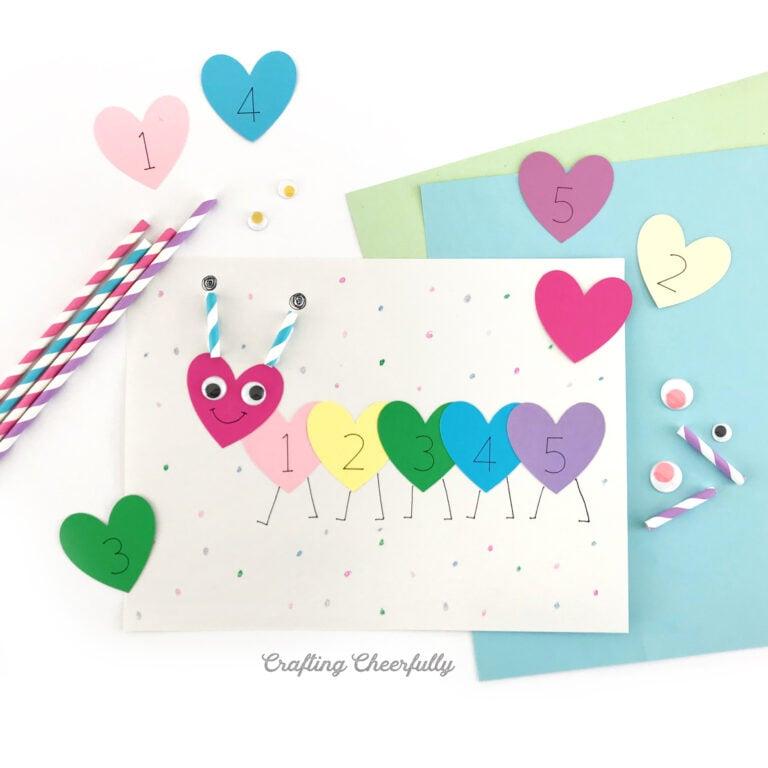 Valentine's Day Preschool Craft