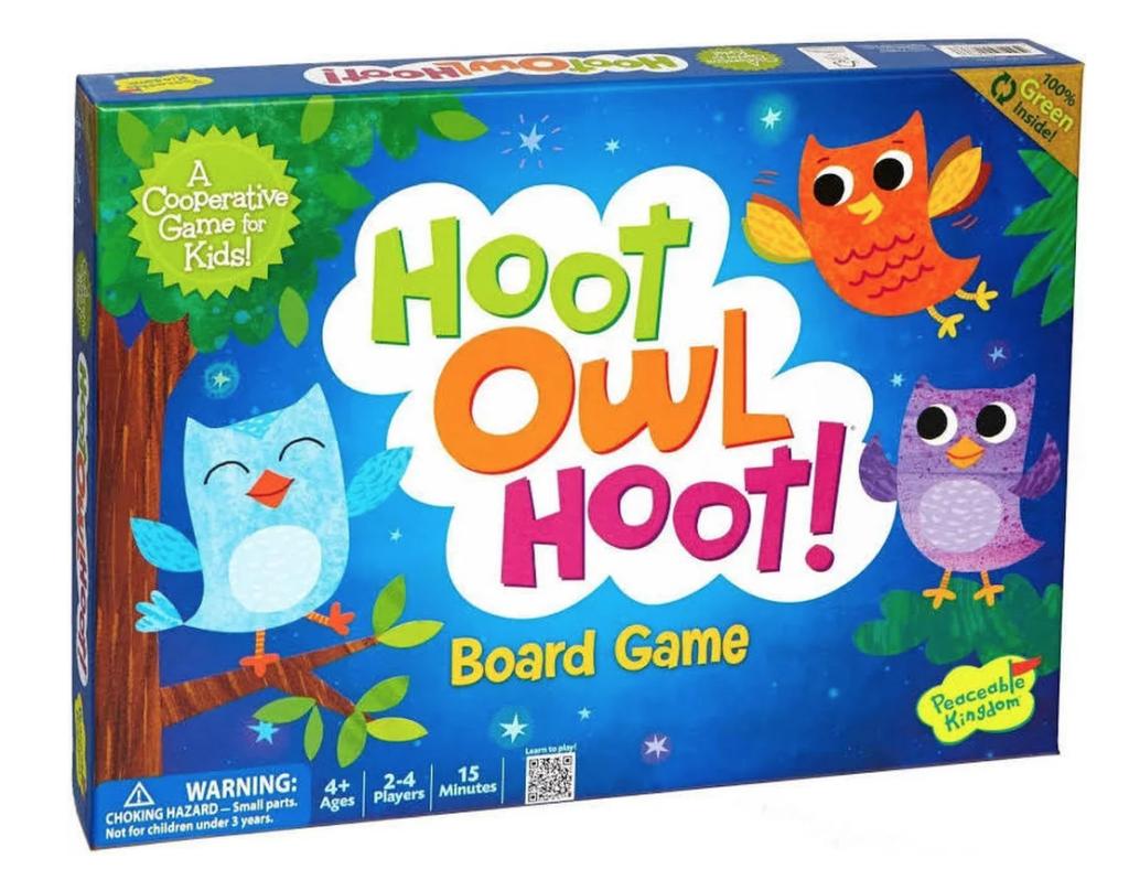 10 Fun Board Games for Preschoolers - Hoot Owl Hoot