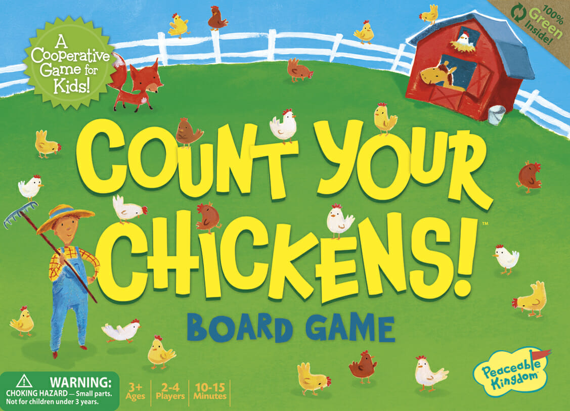 10 Fun Games for Preschoolers - Count Your Chickens
