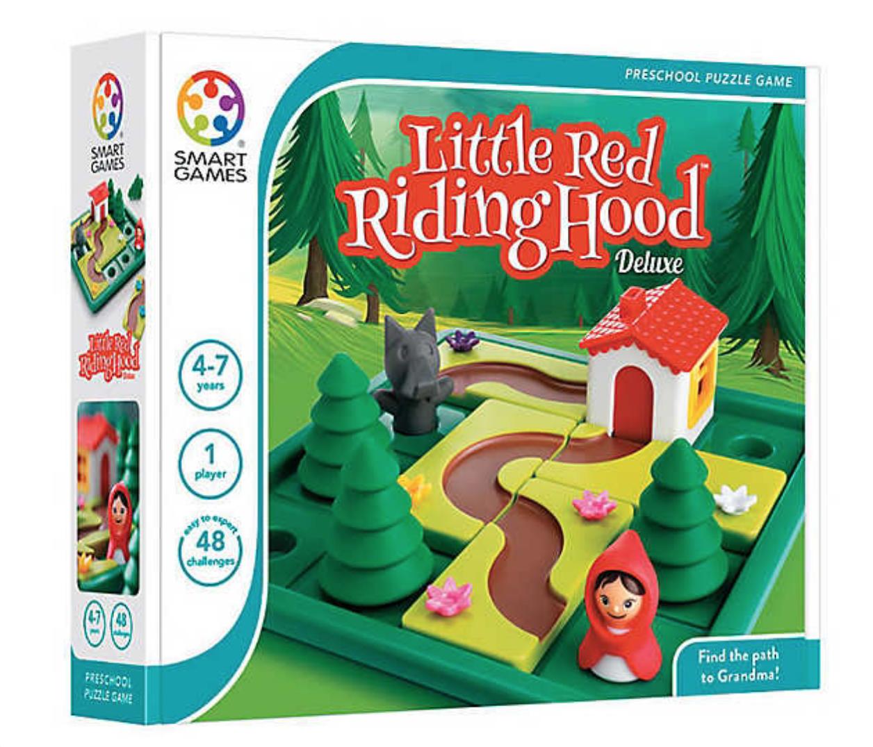 10 Fun Board Games for Preschoolers - Little Red Riding Hood Deluxe