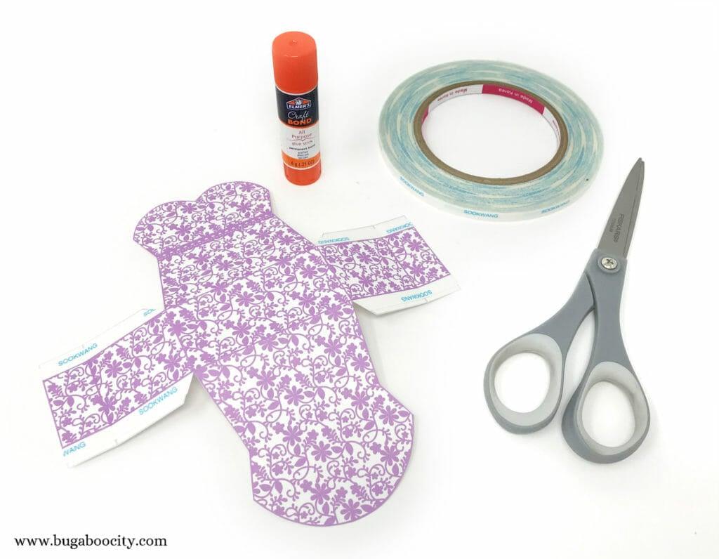DIY Dress Treat Boxes - Bridal Shower Bridesmaid Favor Boxes