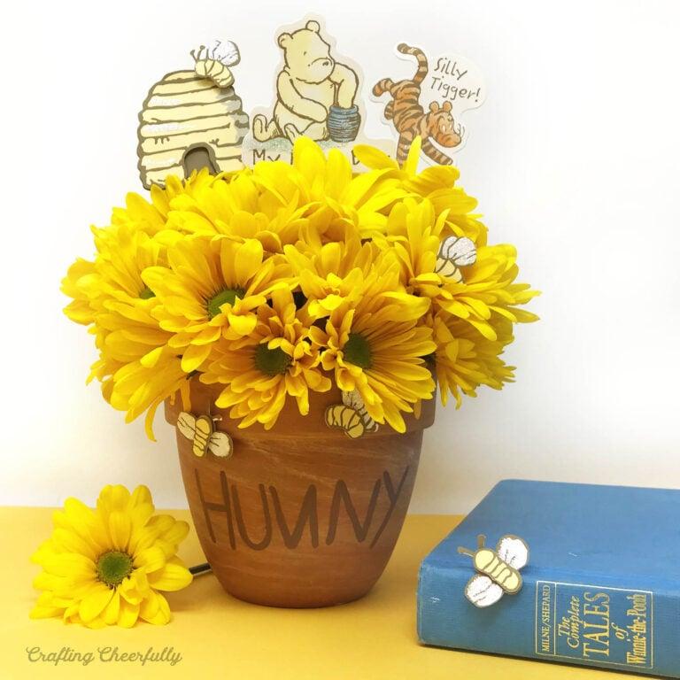 Winnie the Pooh Honey Pot Centerpiece