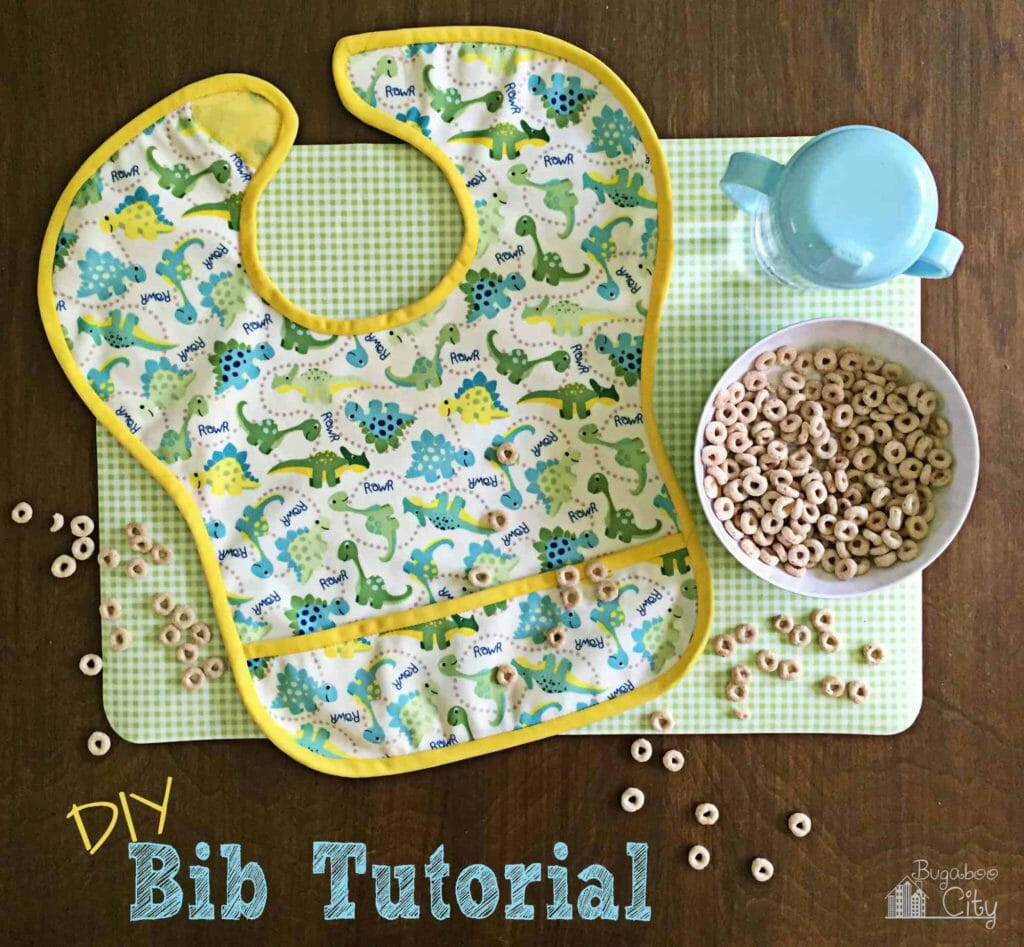 DIY Waterproof Baby Bib Tutorial