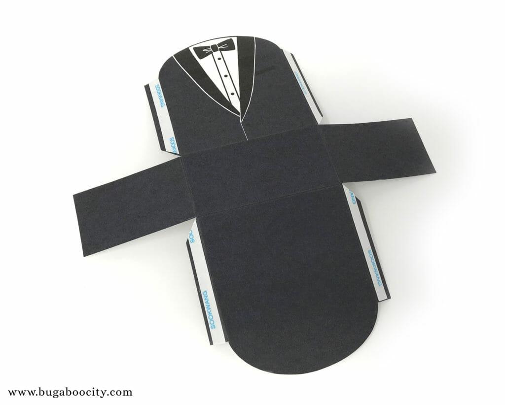 DIY Menswear Groom Treat Box