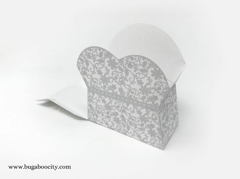 DIY Wedding Dress Treat Boxes, Bridal Shower Wedding Favor