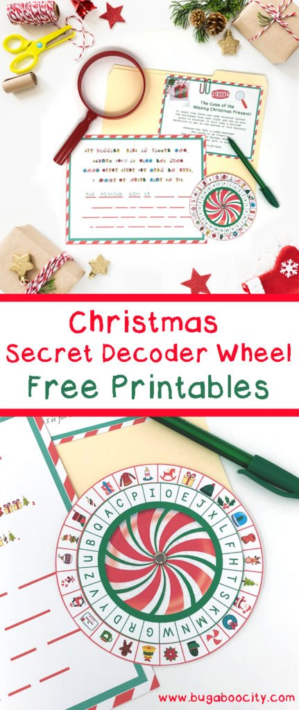photo relating to Printable Decoder Wheel referred to as Xmas Solution Decoder Wheel - Free of charge Printable - Producing