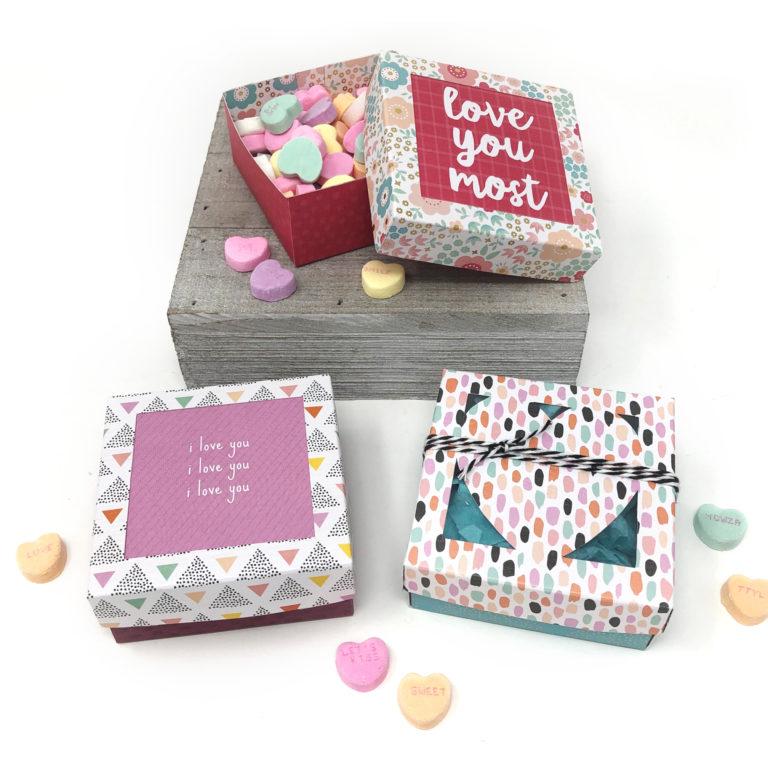 Valentine's Day Gift Box – Free PDF Pattern